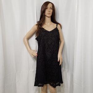 Maurices Black Lace Mini Dress Sz. XL NWT